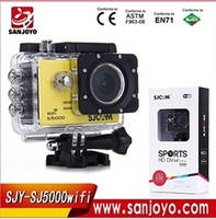 Original SJCAM SJ5000 WiFi 1080P Full HD Action Camera Sport DVR Waterproof Sport Camera digital cameras sj 5000