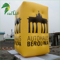 Giant Outdoor Promotional Decor Inflatable Flying Rectangle Shaped Cuboid Balloons