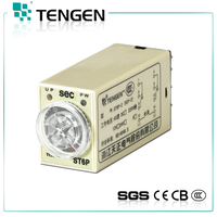 ST6P series 220v 0.5a~5a Omron time delay relay