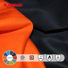 South Africa Proban twill cotton poly fire retardant antistatic oil repellency fabric