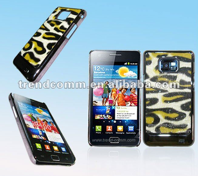Zebra chrome back cover for samsung galaxy S2