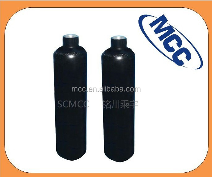 40L High pressure Aluminum gas cylinder for industrial and specialty gas