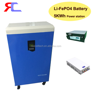 Battery manufacturer 48V 5KWh 10KWh 20KWh lifepo4 battery power station for home energy storage system
