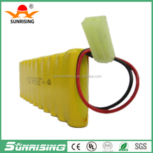 Rechargeable Battery pack 12v Ni-Cd AA 600 Batteries 12v battery pack
