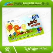offset printing plastic straight talk phone cards