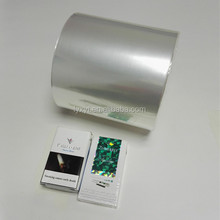 good grade cigarette plastic bopp wrapping film roll manufacturer in china