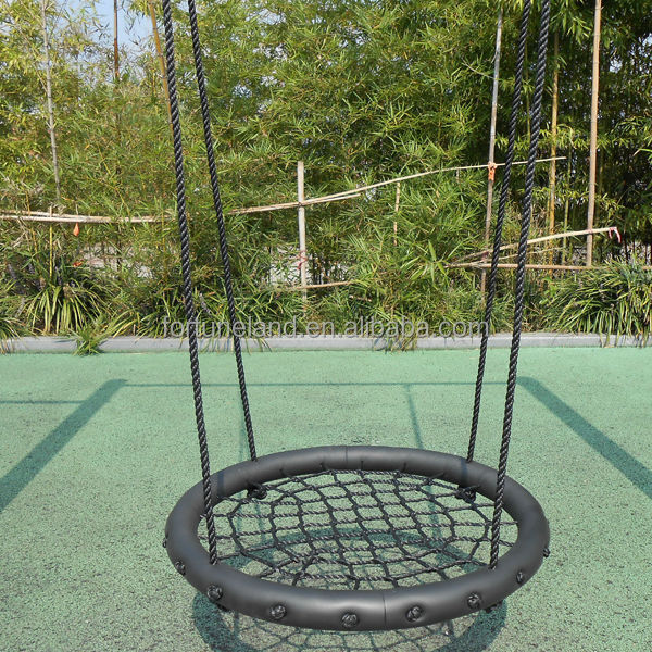 Outdoor round swing