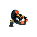 waterproof baby bath toys / penguin family toy