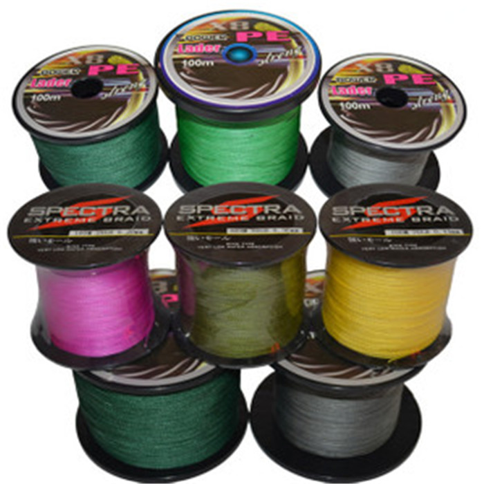 Great discount superpower 8 strands 500m 15lb 115lb for Cheap braided fishing line