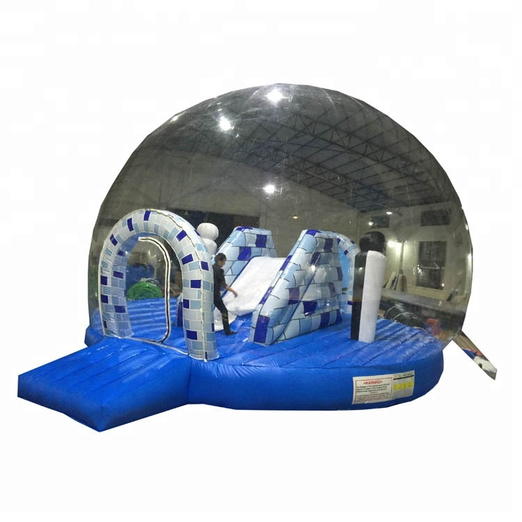 Commercial inflatable transparent clear jumping castle tents for sale