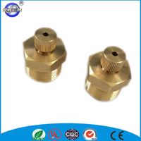 China popular small manual brass radiator bleed drain air vent valve