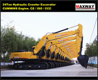 Sales Promotion ~ CE / ISO Mark, CARTER Construction Machinery Excavator CT240 for Sale, DOOSAN Travel Motor , CT240-7A