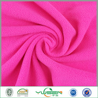 Super soft fir retardant micro fiber polar fleece fabric for boys' jacket