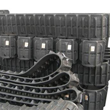 excavator rubber track crawler,rubber track crawler for excavator,robot rubber track 320x88x55