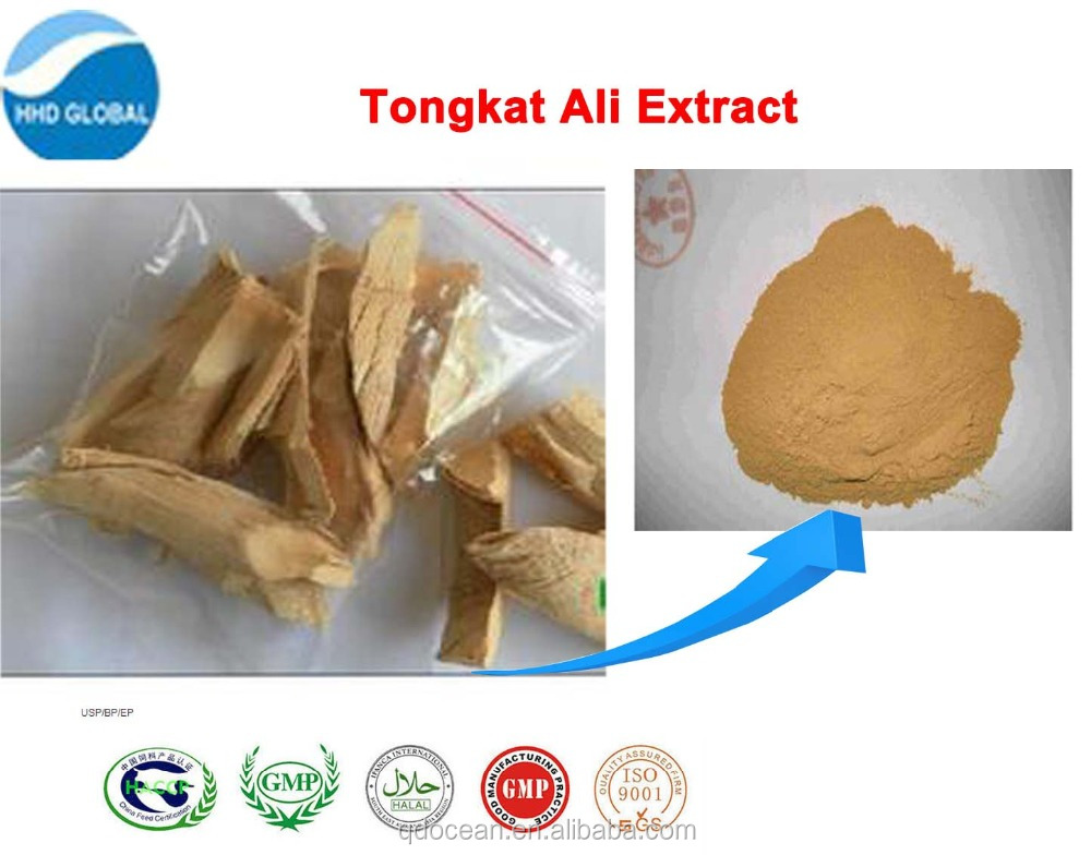 Herbal Extract 100% Pure tongkat ali root extract 200:1 powder with free samples!