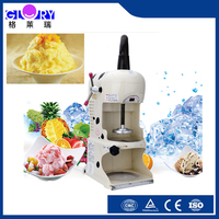 electric type snow cone machine, industrial snow ice shaver machine, ice shaving machine