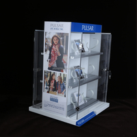 Customized acrylic store watch display