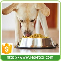 Custom logo Non-Skid Rust Resistant Rubber Base Stainless Steel Dog Bowls