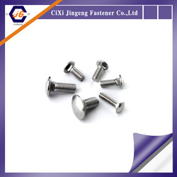 Cup Square Zinc & Clear (BZP) Grade 4.6 carriage bolt