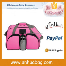 High qualiy Pink fancy travel bag