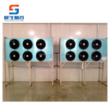 big size floor standing air cooler for meat pork cold room