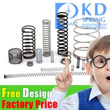 China Manufacturer Custom High Quality Color Zinc heavy duty Helical Coil Compression Spring