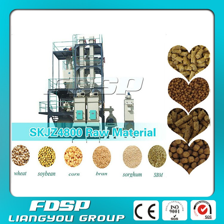 Animal feed pellet production line/dairy farm machinery for your choose with best after sale
