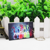 Personalized credit card shaped usb flash drive for heat transfer