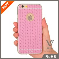 JULES.V 3d silicone phone case for iphone 6 clear tpu cover