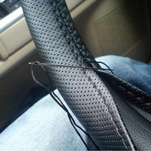 Best seller sewing needlework stiching leather steering wheel cover