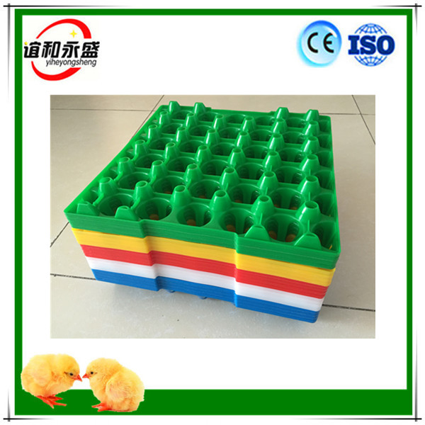 30 Holes Stackable Virgin HDPE Plastic Egg Packing Tray for Logistic