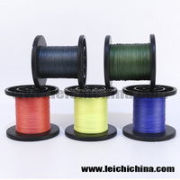 In stock different color braided fishing line