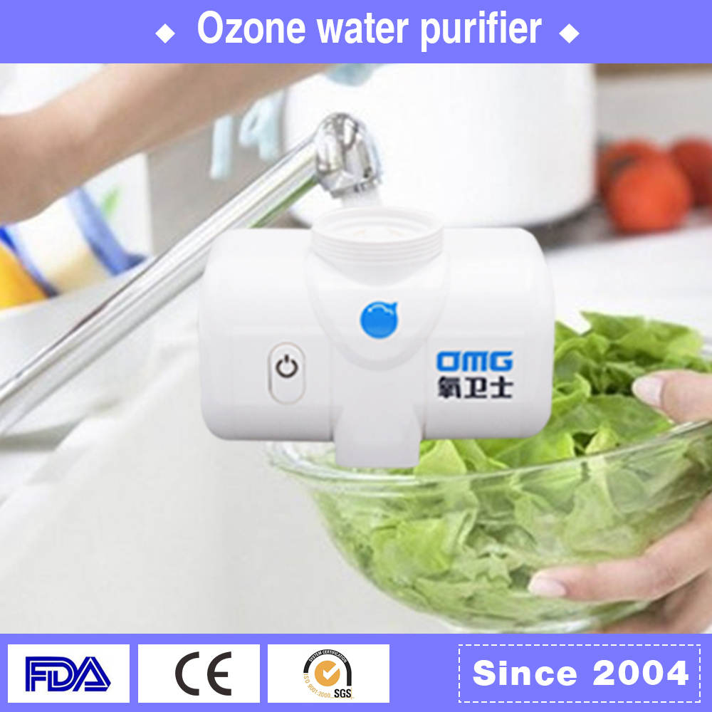 Latest drinking water Bacteria removed top sell ozone tap water filters