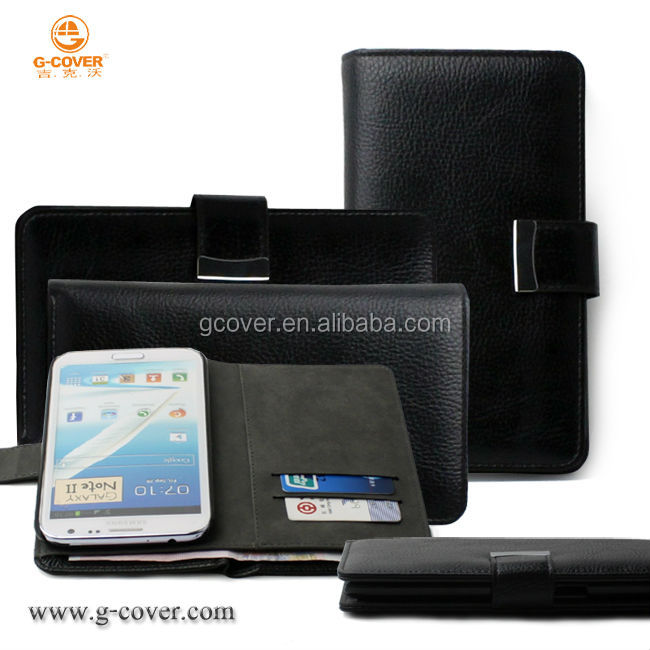 Wallet case for samsung galaxy note2 case N7100