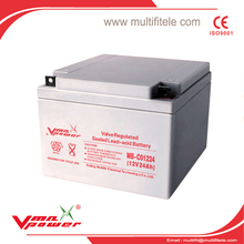 12v 100AH AGM Seal Lead Acid battery ISO9001&ISO14001