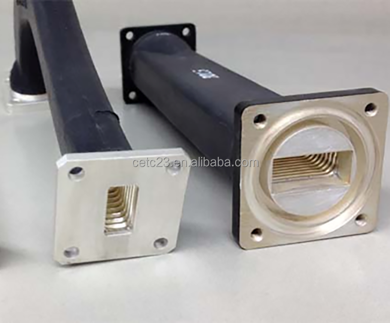 L Band WR650 Standard Rectangular Seamless Flexible Waveguide