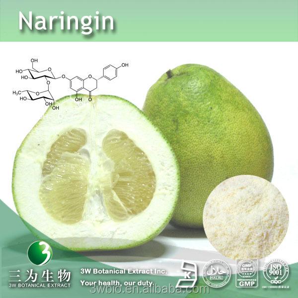 Pomelo peel Extract Naringin 98%, CAS No. 10236-47-2