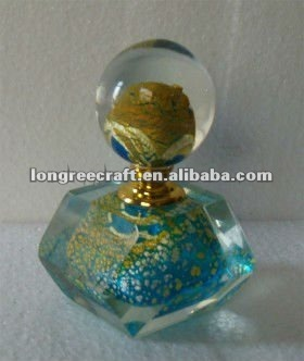 Decorative Pyramid Perfume Bottle