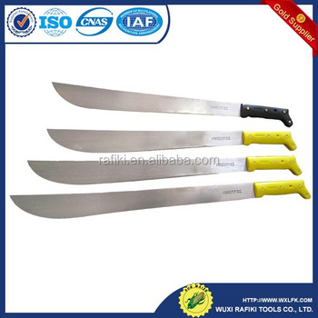 plastic handle machete for South America