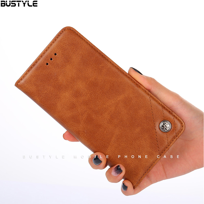 Retro Flip PU Case for iPhone <strong>X</strong> XR shockproof magnetic leather back cover for Huawei mate <strong>10</strong> <strong>pro</strong> P9 <strong>10</strong>