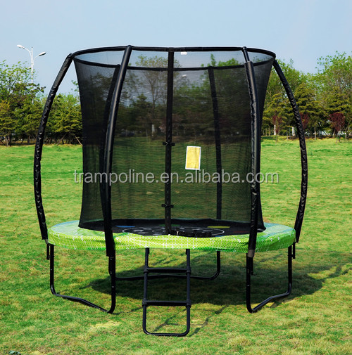 fun jump 10ft trampoline with fibre rob enclosure