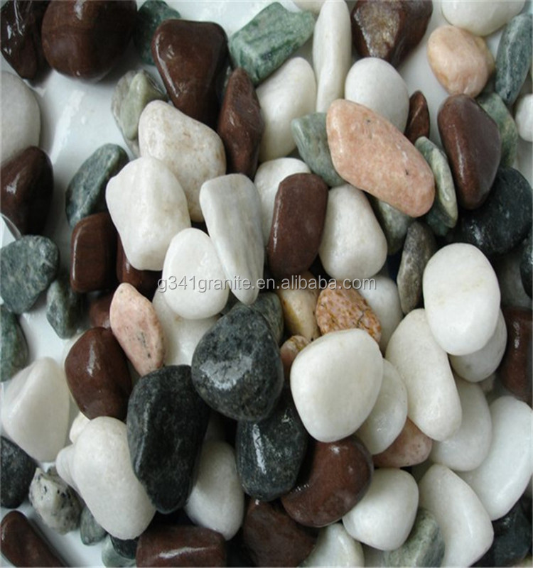 High Quality Natural Color River Rock Stones And Small Pebbles & Gravels