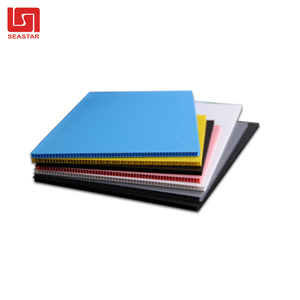 2mm, 4mm, 6mm,8mm,10mm,12mm Polypropylene fluted plastic sheet