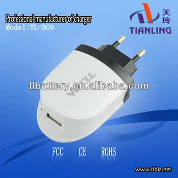 Mini Eu Plug Usb Charger,Eu Usb Wall Charger,Oem Usb Power Adapter