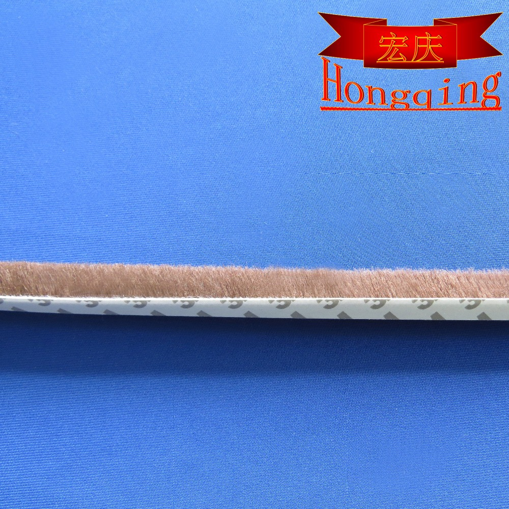 adhesive weather strip, sliding door wool pile strip