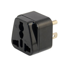 UK to US Adapter,UK to USA Plug Adapter Converts 3 pin British Plug to 3 Prong Grounded America Wall Plug