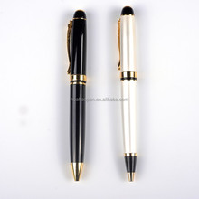 Hot new advertising promotional pen, metal ball pen advertising cheap ballpoint pen refill for promotional gifts