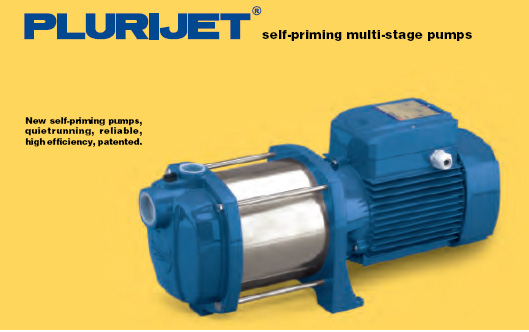 Multi stage pump