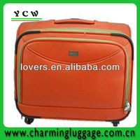 fashionable travel trolley luggage bag for promotion