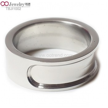 Unique design new style blank rings for inlay
